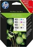 HP Tusz 950XL Black/951XL Cy/Mag/Ye 4Pack
