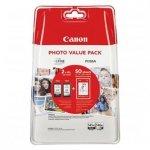 Canon oryginalny wkład atramentowy / tusz PG-545 XL/CL-546 XL + 50x GP-501. black/color. 8286B006. Canon Pixma MG2450. 2555. MX495. Promo pack 8286B006
