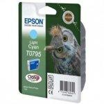 Epson oryginalny wkład atramentowy / tusz C13T079540. light cyan. 11.1ml. Epson Stylus Photo 1400 C13T07954010