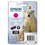Epson oryginalny wkład atramentowy / tusz C13T26134012. T261340. magenta. 4.5ml. Epson Expression Premium XP-800. XP-700. XP-600 C13T26134012