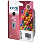 Epson oryginalny wkład atramentowy / tusz C13T028401. black. 600s. 17ml. Epson Stylus Color C60