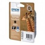 Epson oryginalny wkład atramentowy / tusz C13T07114H10. black. 2x11.1ml. Epson Stylus D120. 120 Network Edition. DX7400. 8400. 94 C13T07114H10