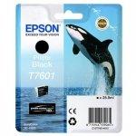 Epson oryginalny wkład atramentowy / tusz C13T76014010. T7601. photo black. 25.9ml. 1szt. Epson SureColor SC-P600 C13T76014010