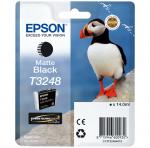 Epson oryginalny wkład atramentowy / tusz C13T32484010. czarny mat. 14ml. Epson SureColor SC-P400 C13T32484010