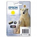 Epson oryginalny wkład atramentowy / tusz C13T26144012. T261440. yellow. 4.5ml. Epson Expression Premium XP-800. XP-700. XP-600 C13T26144012