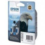 Epson oryginalny wkład atramentowy / tusz C13T007402. black. 1080s. 32ml. 2szt. Epson Stylus Photo 870. 875D. 790. 890. 895. 1270. 1290