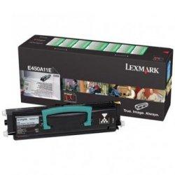 Lexmark oryginalny toner E450A11E. black. 6000s. return. Lexmark E450