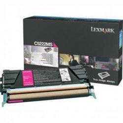 Lexmark oryginalny toner C5222MS. magenta. 3000s. Lexmark C52x. C53x C5222MS