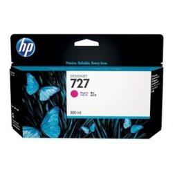HP oryginalny wkład atramentowy / tusz F9J77A. No.727. magenta. 300ml. HP DesignJet T1530. T2530. T930 F9J77A