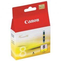 Canon oryginalny wkład atramentowy / tusz CLI8Y. yellow. 420s. 13ml. 0623B001. Canon iP4200. iP5200. iP5200R. MP500. MP800 0623B001