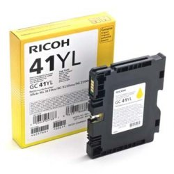 Ricoh oryginalny żelowe wypełnienie 405768. yellow. 600s. GC41Y. Ricoh AFICIO SG 2100N