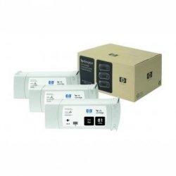 HP oryginalny wkład atramentowy / tusz C5066A. No.81. black. 3x680ml. 3szt. HP DesignJet 5000. PS. UV. 5500. PS C5066A