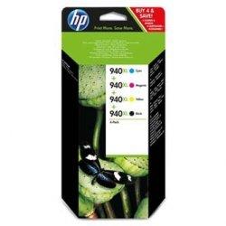 HP oryginalny wkład atramentowy / tusz C2N93AE. CMYK. 940XL. HP C2N93AE