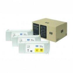 HP oryginalny wkład atramentowy / tusz C5069A. No.81. yellow. 3x680ml. 3szt. HP DesignJet 5000. PS. UV. 5500. PS C5069A