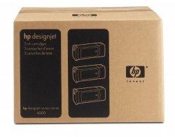 HP oryginalny wkład atramentowy / tusz No90 Yellow 3-PK