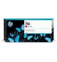 HP Tusz 746 300-ml Magenta Ink Cartridge