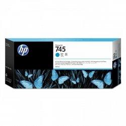 HP Wkład atramentowy 745 300-ml Cyan F9K03A