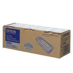 Epson oryginalny toner C13S050584. black. 8000s. return. high capacity. Epson Aculaser M2400. MX20 C13S050584