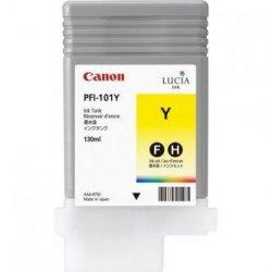 Canon oryginalny wkład atramentowy / tusz PFI101 Y. yellow. 130ml. 0886B001. ploter iPF-5000 0886B001