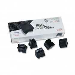 Xerox oryginalny toner 016204000. black. 7000s. Xerox Phaser 8200. 5szt