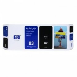 HP oryginalny wkład atramentowy / tusz C4940A. No.83. black. 680ml. HP DesignJet 5000. PS. UV. 5500. PS. UV C4940A