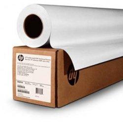 Papier do plotera HP Matte Litho-realistic Paper. 60x100. K6B82A. litograficzny papier. matowy. biały. do drukarek atramentowych. rolka