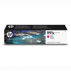 HP oryginalny ink M0J94AE, HP 991X, magenta, 16000s, HP HP PageWide Pro 750dw, MFP 772dn, MFP 777z M0J94AE