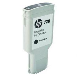HP oryginalny wkład atramentowy / tusz F9J68A. No.728. matte black. 300ml. HP DesignJet T730. DesignJet T830. DesignJet T830 MFP