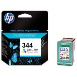 HP oryginalny wkład atramentowy / tusz C9363EE. No.344. color. 580s. 14ml. HP Photosmart 385. 335. 8450. DJ-5940. 6840. 9800