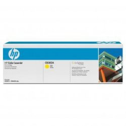 HP oryginalny toner CB382A, yellow, 21000s, HP Color LaserJet CP6015n, dn, xh, CM6030, 6040