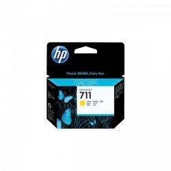 HP 711 Żółty 3x29ml. oryginalny wkład atramentowy / tusz do plotera Designjet T120/T520 żółty. trójpak
