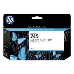 HP oryginalny wkład atramentowy / tusz F9J98A, No. 745, photo black, 130ml, HP DesignJet HD Pro MFP, DesignJet Z2600, Z5600 F9J98A