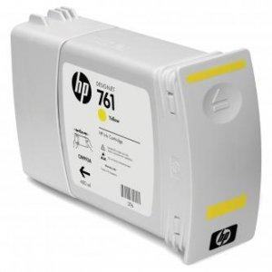 HP oryginalny wkład atramentowy / tusz CM992A. yellow. 400ml. No.761. HP DesignJet T7100 CM992A