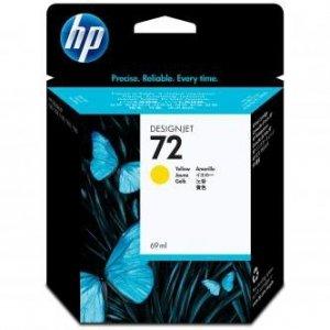 HP oryginalny wkład atramentowy / tusz C9400A. No.72. yellow. 69ml. HP Designjet T1100. T770 C9400A