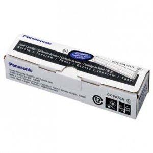 Panasonic oryginalny toner KX-FA76E/A. black. 2000s. Panasonic Laserfax KX-FL503CE. 501. 752EX. 751. 753. 551. 5 KX-FA76E/A