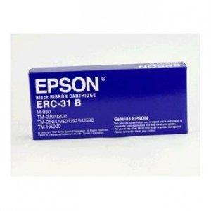 Epson oryginalny tasma do kas fiskalnych. C43S015369. ERC 31. czarna. Epson TM-H5000. M-930. II. 925. U590. IT-U950 C43S015369