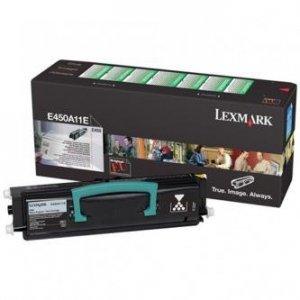 Lexmark oryginalny toner E450A11E. black. 6000s. return. Lexmark E450 E450A11E