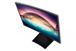 SAMSUNG Monitor S24E650C/24''LED Curved 1920x1080 DP bk LS24E65KCS/EN