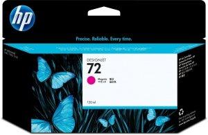HP 72 Magenta 130 ml. oryginalny wkład atramentowy / tusz do plotera Designjet T610/790/795/1100/1200/1300/2300 purpurowy C9372A