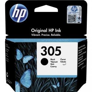 HP Tusz 305 Black Original Ink Cartridge