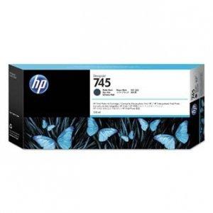 HP oryginalny ink F9K05A, HP 745, matte black, 300ml, HP DesignJet HD Pro MFP, DesignJet Z2600, Z5600 F9K05A