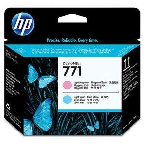HP oryginalna głowica drukująca CE019A. No.771. light cyan/light magenta. HP Designjet Z6200 CE019A