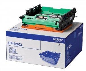 Brother oryginalny bęben DR320CL. CMYK. 25000s. Brother HL-4150CDN. 4570CDW DR320CL