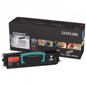 Lexmark oryginalny toner E352H21E. black. 9000s. Lexmark E35x E352H21E