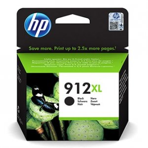 HP oryginalny ink 3YL84AE#301, HP 912XL, black, blistr, 825s, high capacity, HP Officejet 8012, 8013, 8014, 8015 Officejet Pro 802 3YL84AE#301