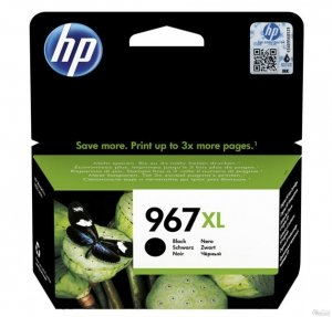 HP Tusz 967XL Extra HY Black Org Ink Crtg 3JA31AE#BGY