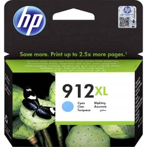 HP Tusz 912XL HY Cyan Original Ink Crtg 3YL81AE#BGY