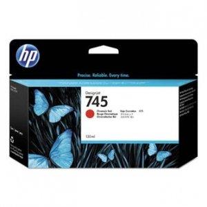 HP oryginalny wkład atramentowy / tusz F9K00A, No. 745, chromatic red, 300ml, HP DesignJet HD Pro MFP, DesignJet Z2600, Z5600 F9K00A