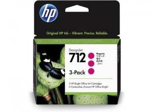 HP Tusz 712 3-Pack 29-ml Magenta DesignJet