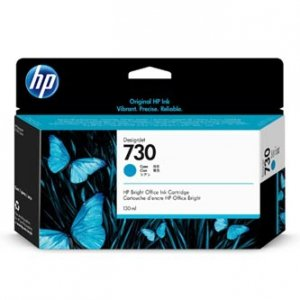 HP oryginalny ink P2V62A, HP 730, cyan, 130ml, HP HP DesignJet T1700 Printer series P2V62A
